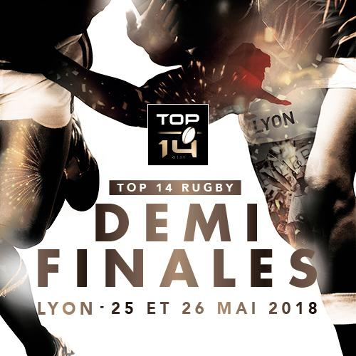 TOP 14 - 2018 - PACK DEMI FINALES