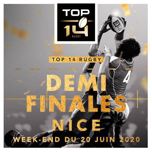 TOP 14 - DEMI-FINALES 2020
