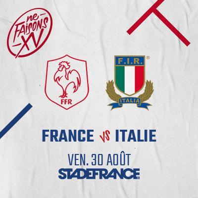 FRANCE - ITALIE - WARM UP 2019